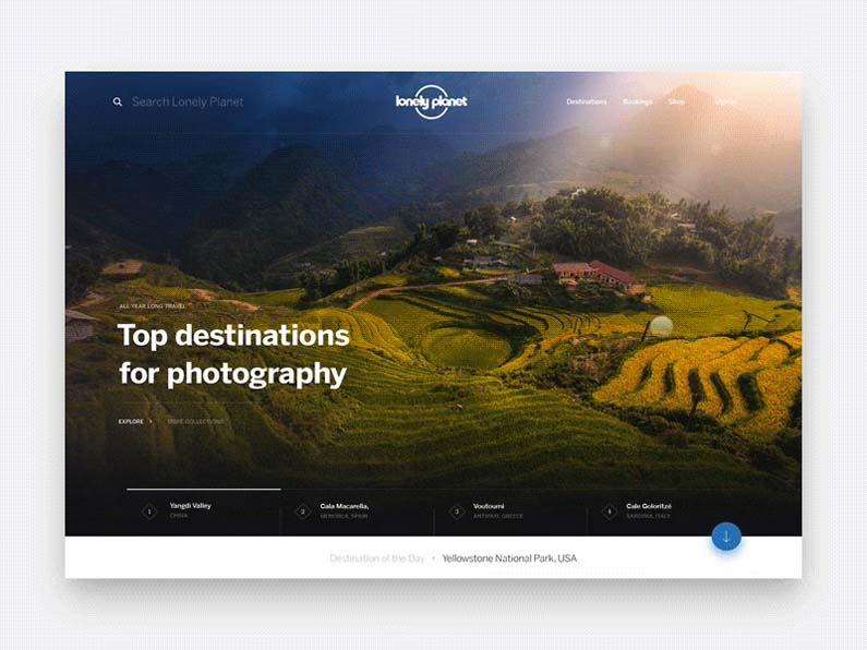 lonely planet website