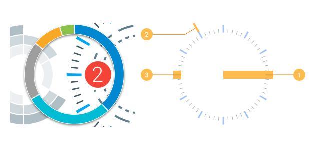 segmented circles plugin