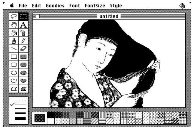 Apple MacPaint (1984)