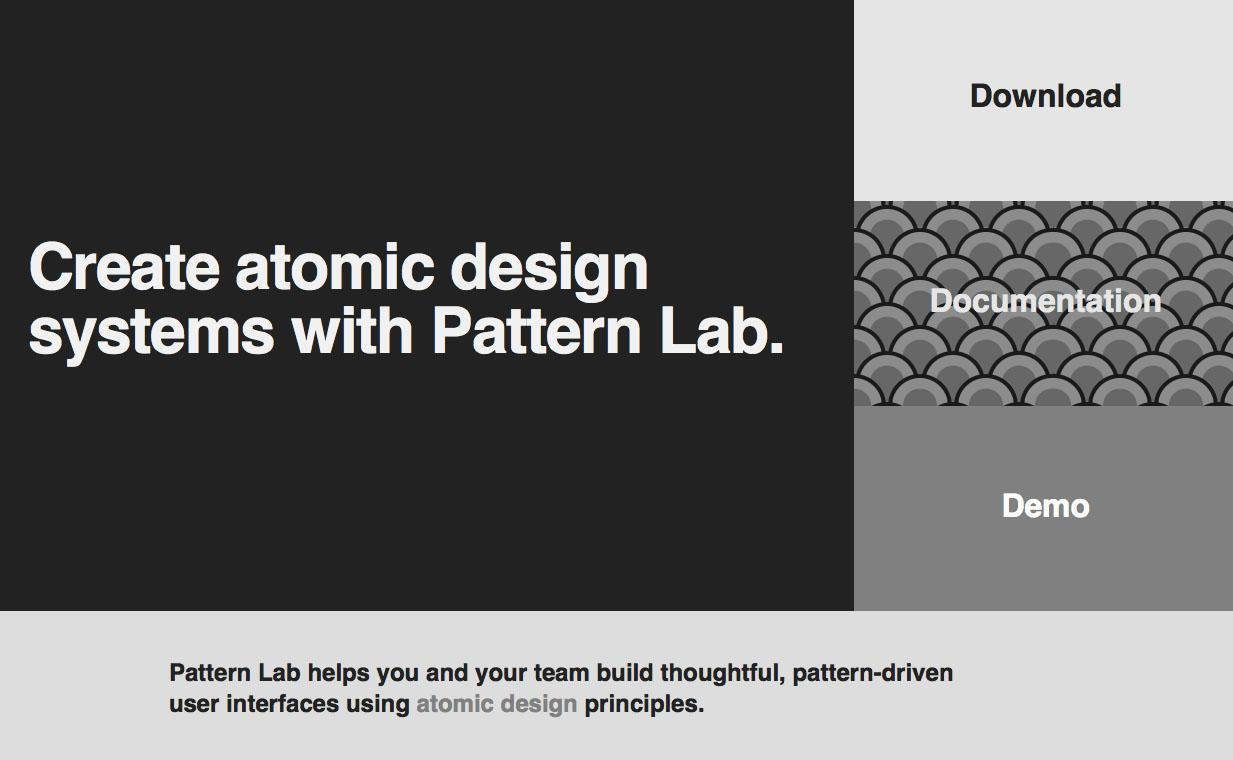 Pattern lab open source projects