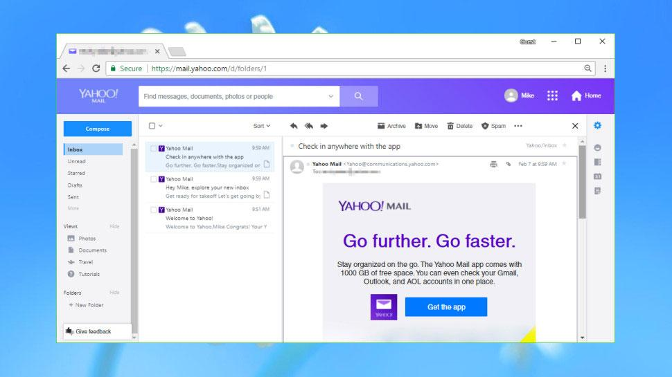 The best email provider of 2018: Yahoo Mail