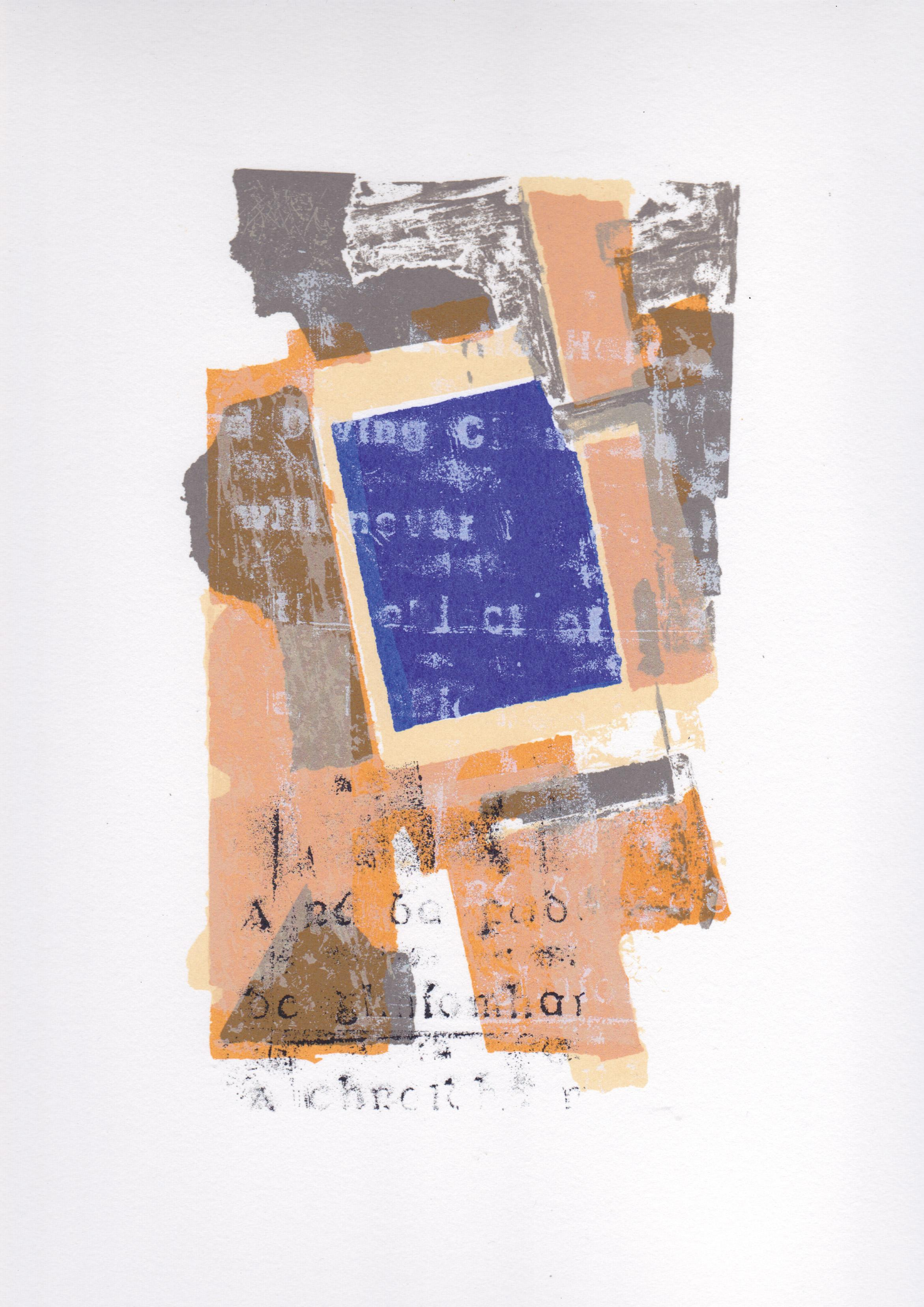 Abstract printed image