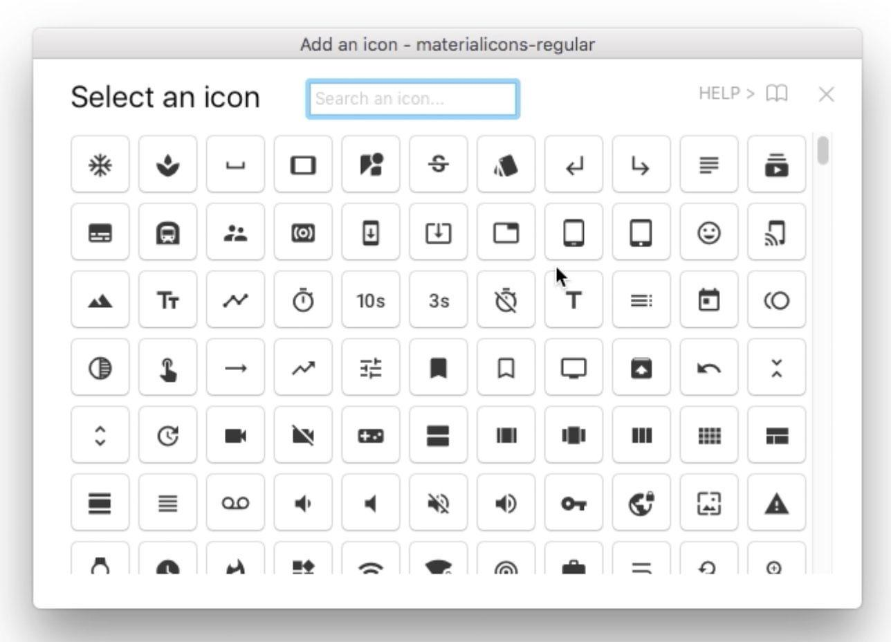 Icon fonts in Sketch