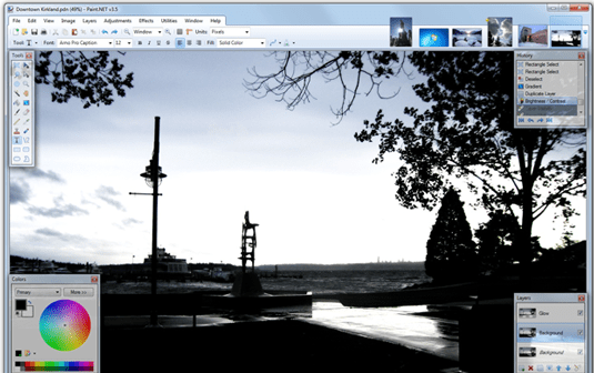 Paint.net - free graphic design software