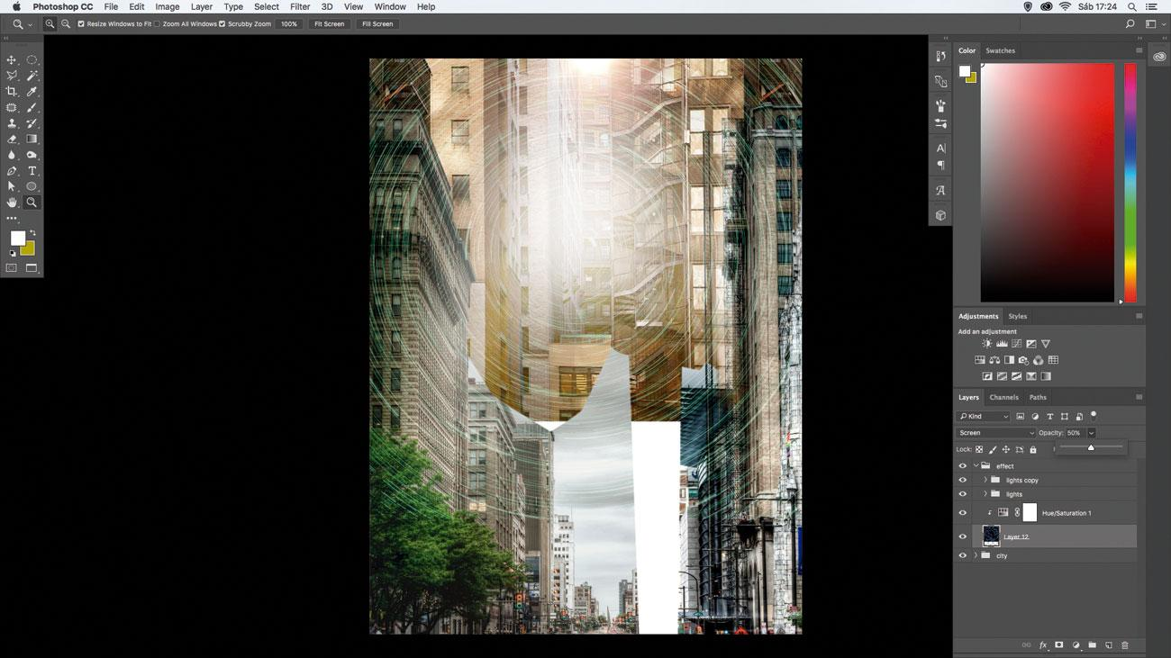 10 amazing things you can do with layers: Use Fill/Opacity