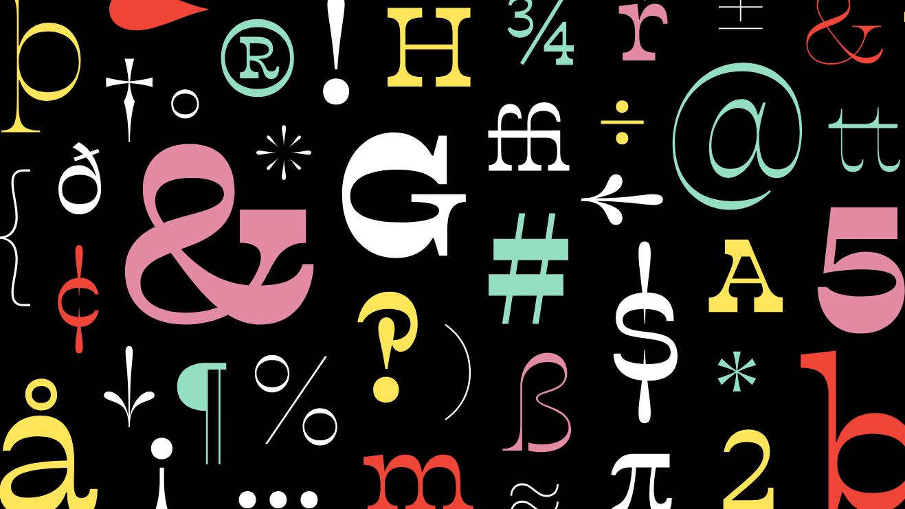 Buffon is a reverse-contrast font with a modern twist