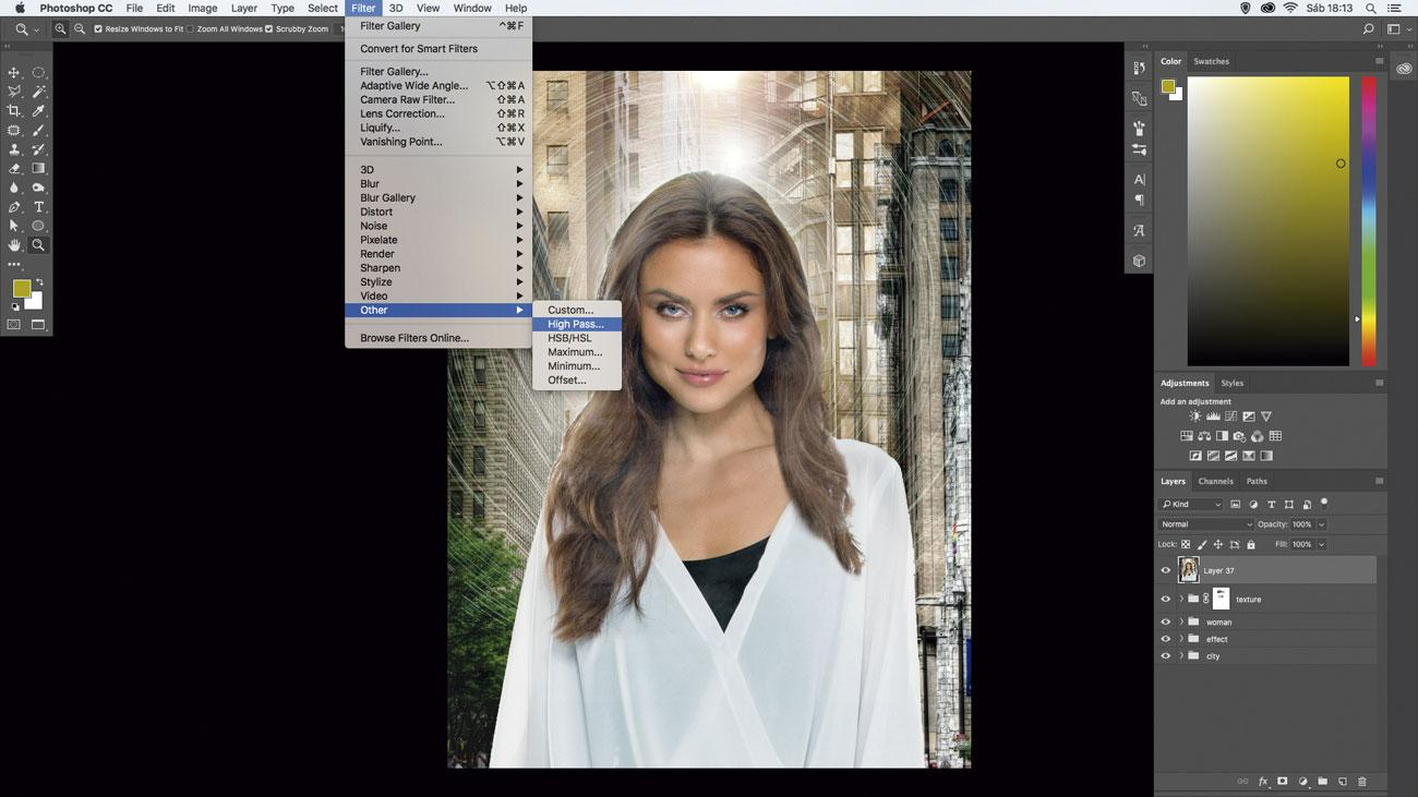 10 amazing things you can do with layers: Sharpen with merged layers