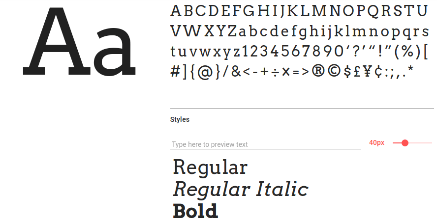 Best free fonts: Arvo