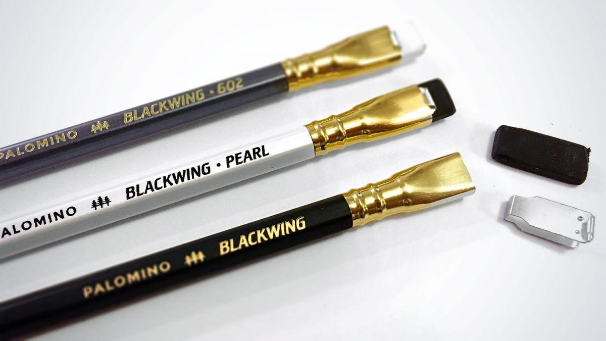 Three Palomino Blackwing pencils