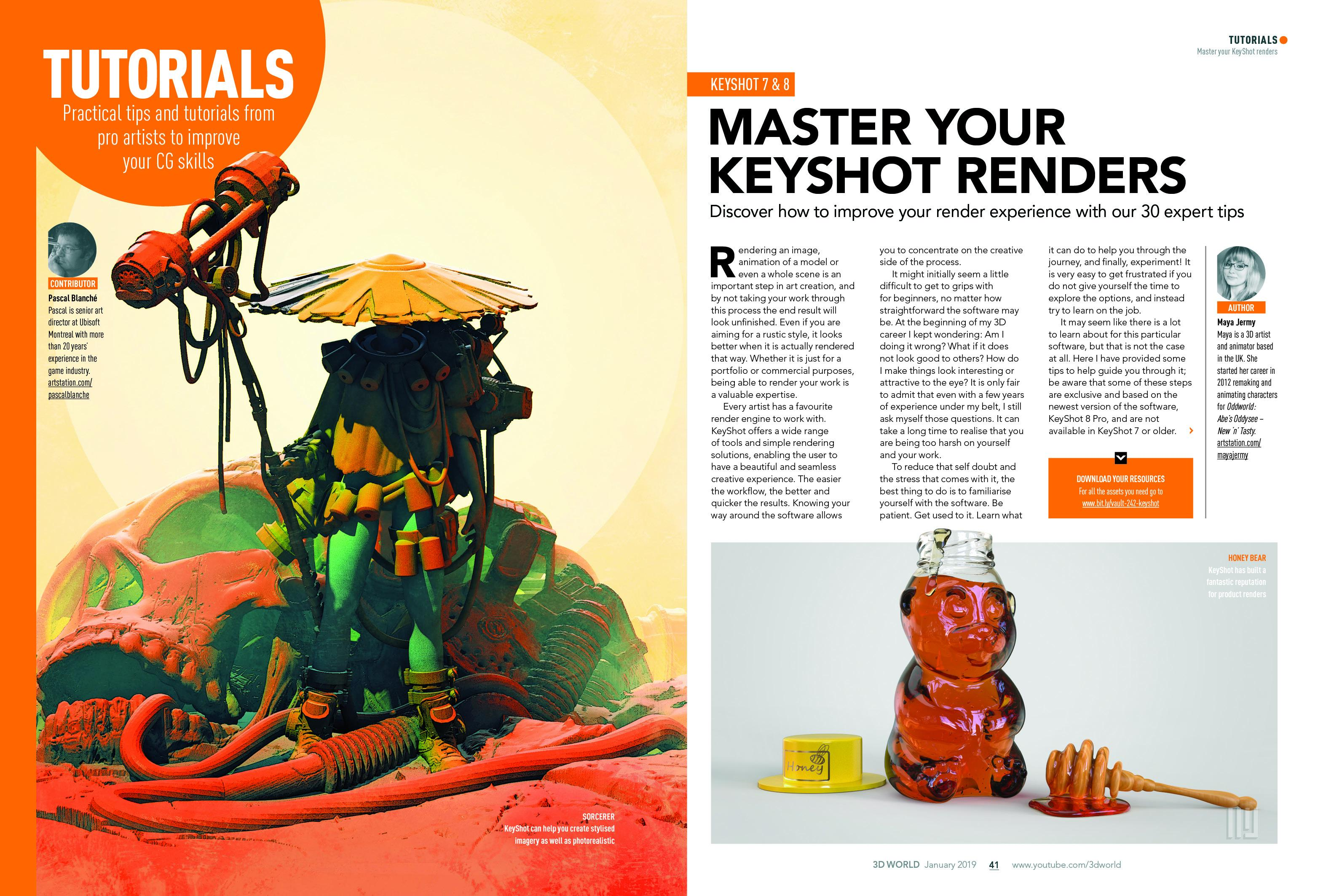 Master your keyshot renders with our top tips