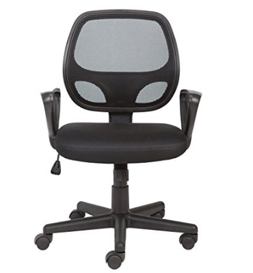Amazon Office Essentials Mesh Back Swivel Desk Chair
