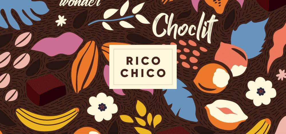 Rico Chico chocolate packaging