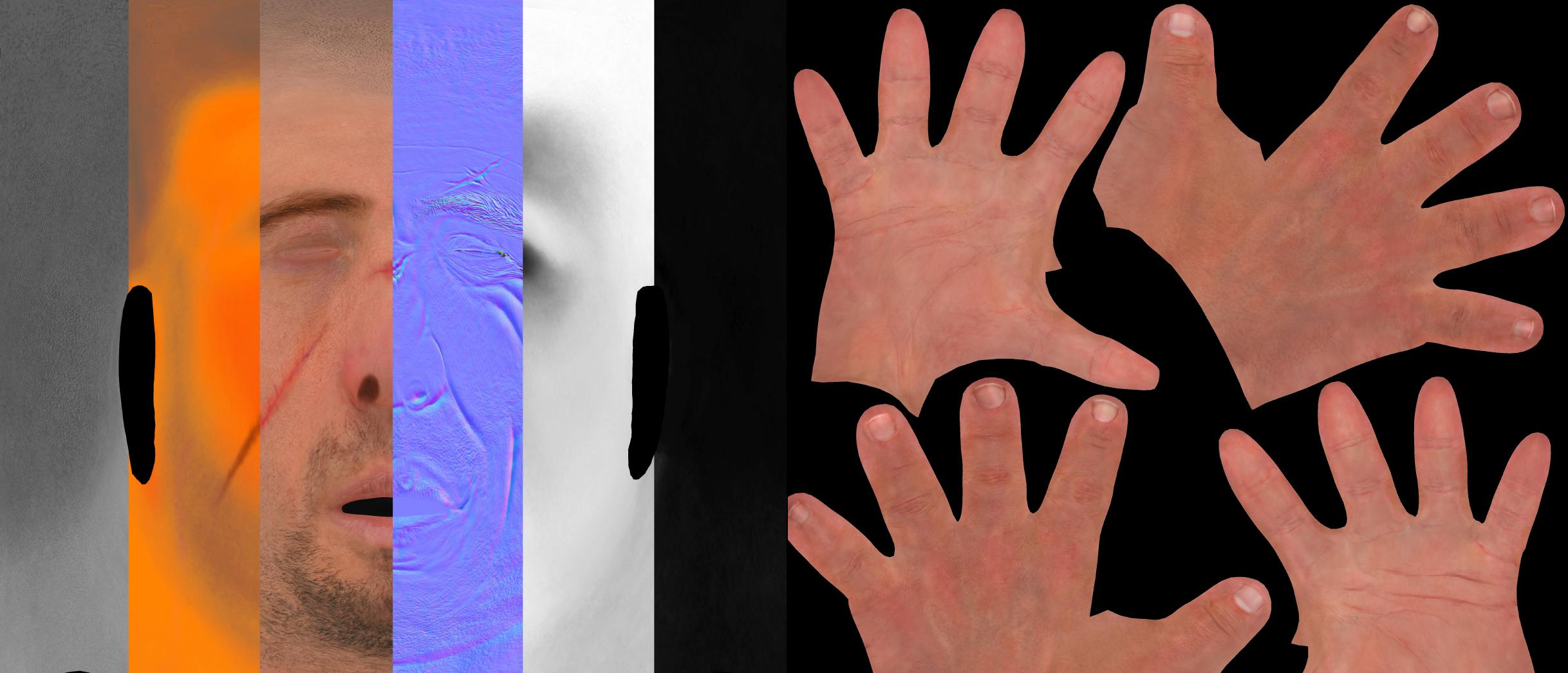 hands ZBrush