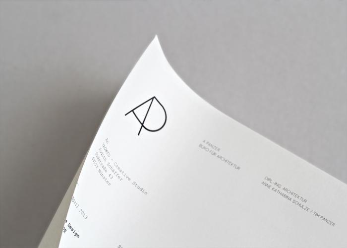 A Panzer letterhead design