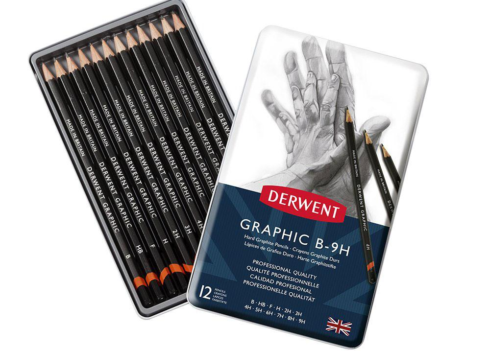 Derwent Graphic Medium pencils