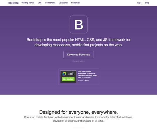 Website templates - Bootstrap