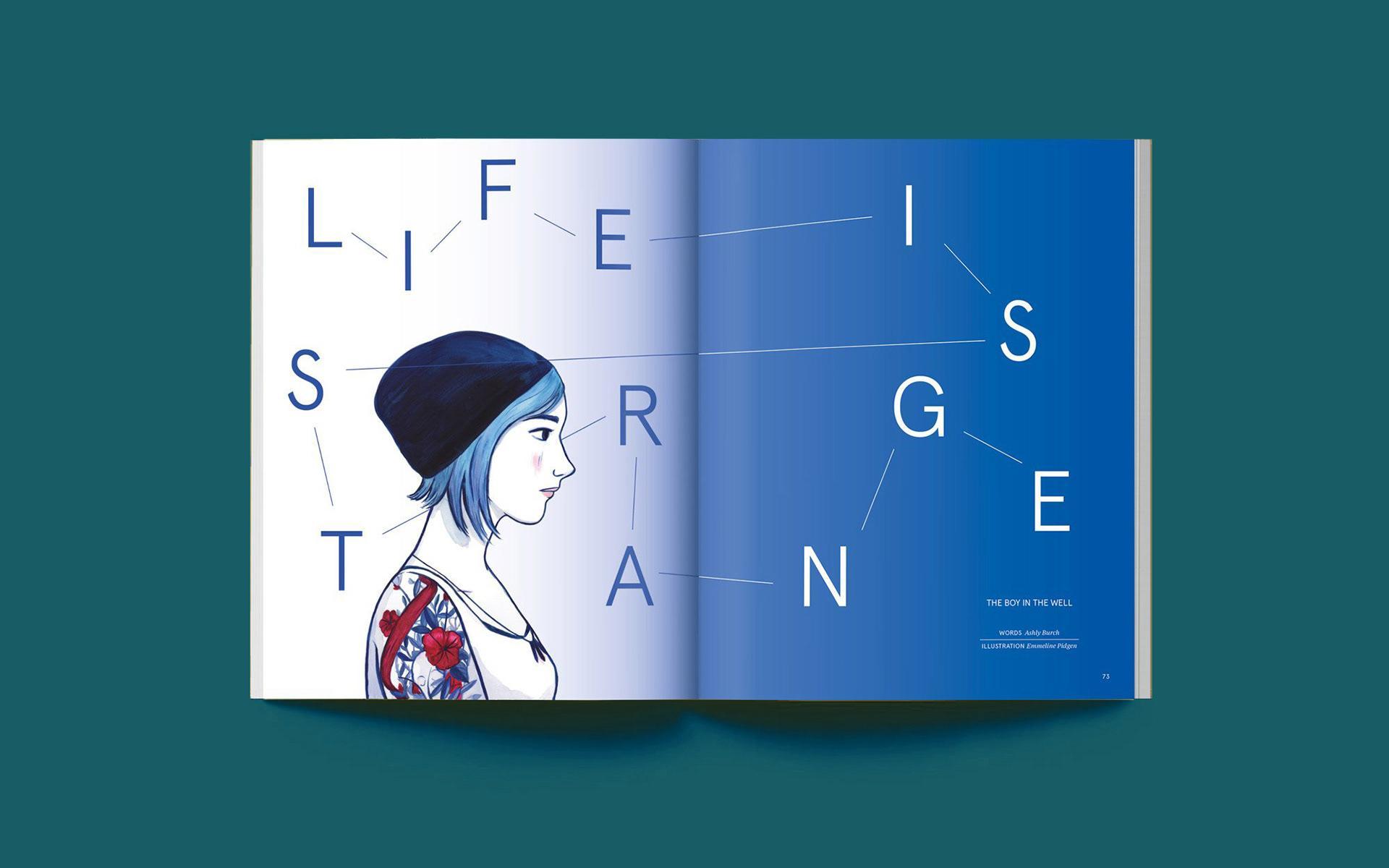 book spread by illustrator Emmeline Pidgen