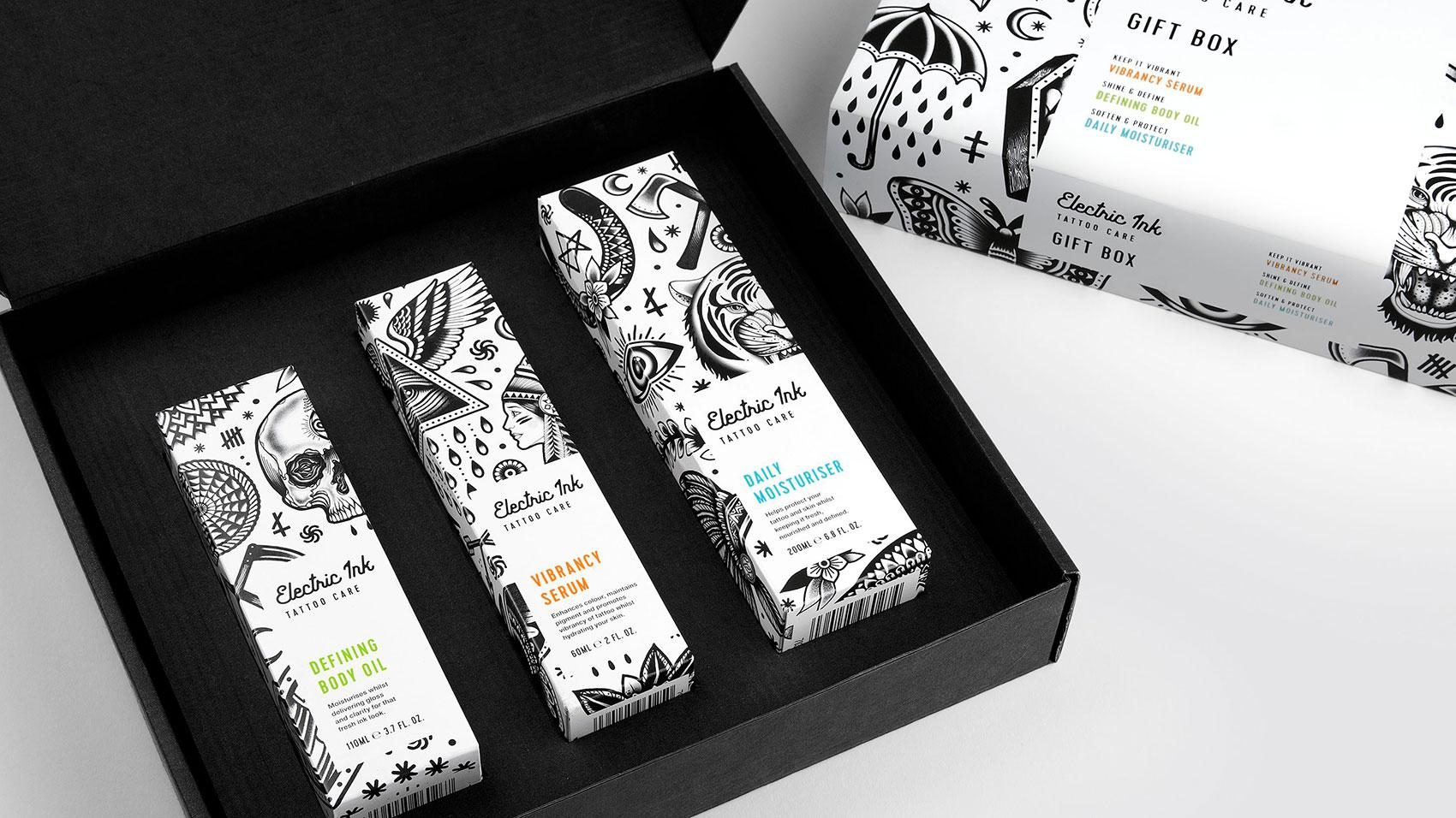 Robot Food took inspiration from tattoo culture in this project for beauty brand Electronic Ink