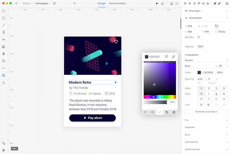 20 best UI design tools: UXPin
