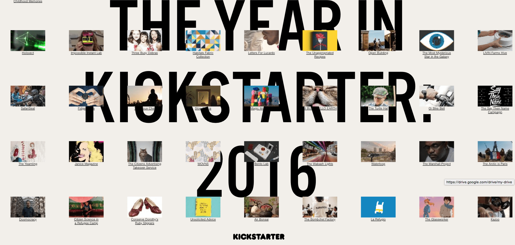 Kickstart 2016 annual report