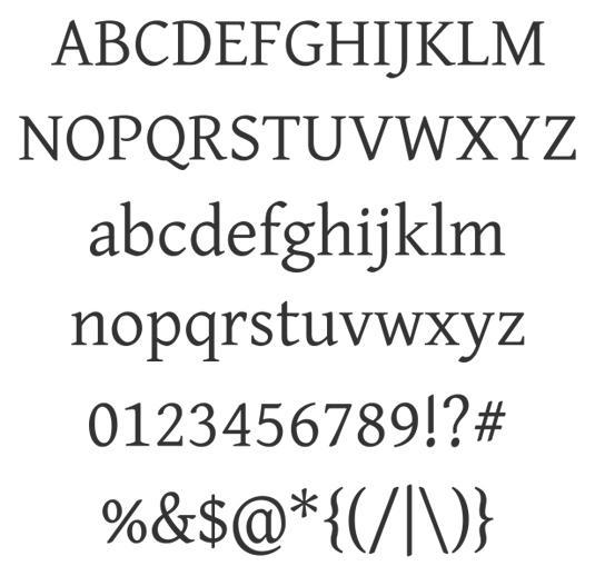 Free web fonts Gentium Basic