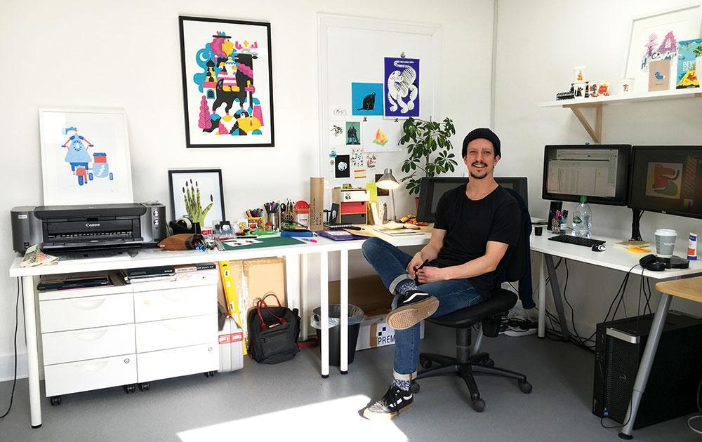 Illustrator John Bond