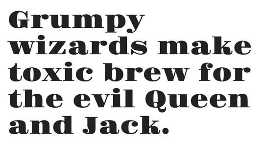 Free web fonts: Gravitas One