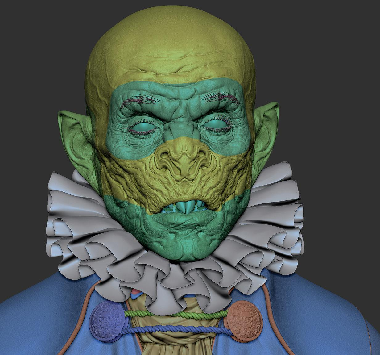 15 tips to master ZBrush: Shrink wrap retop