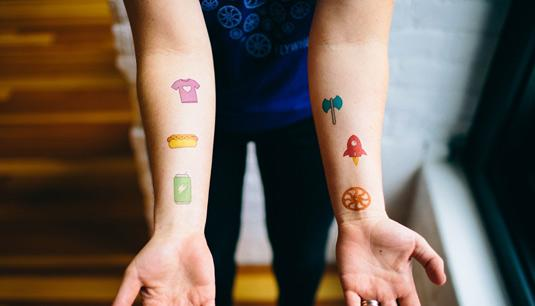 Flywheel tattoos