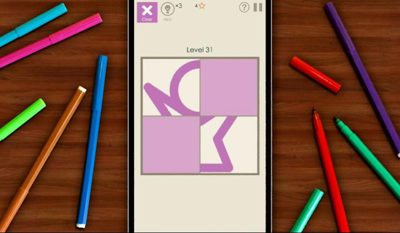 Screenshot from Draw Tile