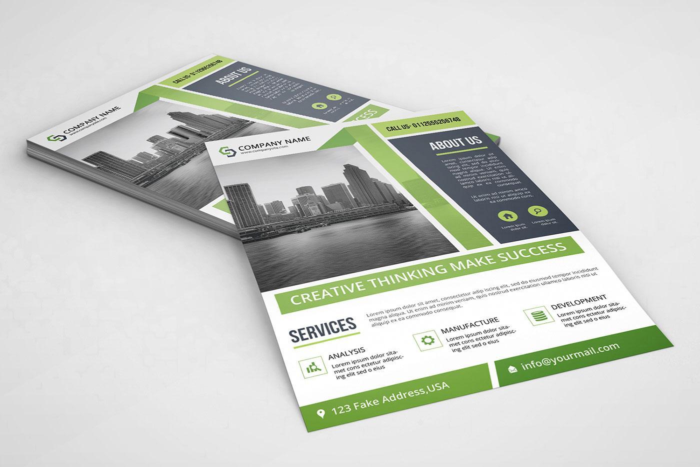 Flyer templates: Business flyer