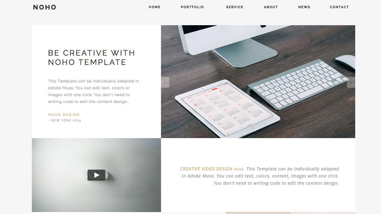 Website templates - NOHO