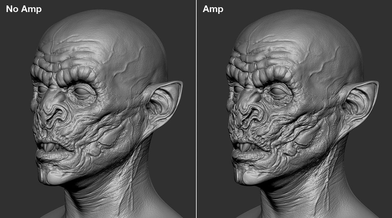 15 tips to master ZBrush: Amp detail the easy way