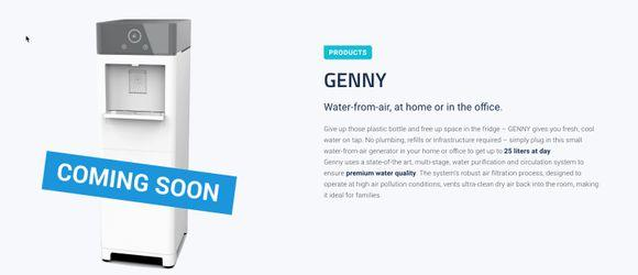 Genny coming soon ad