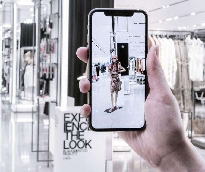augmented reality apps – Zara