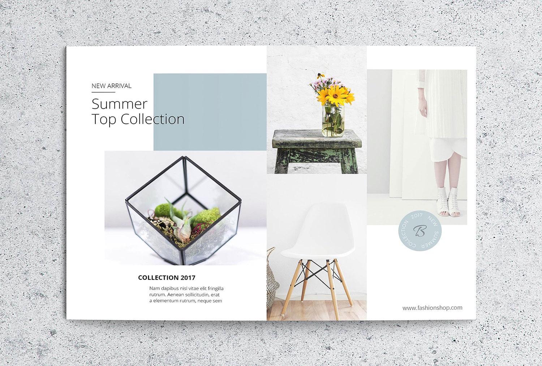 Flyer templates: Postcard flyer