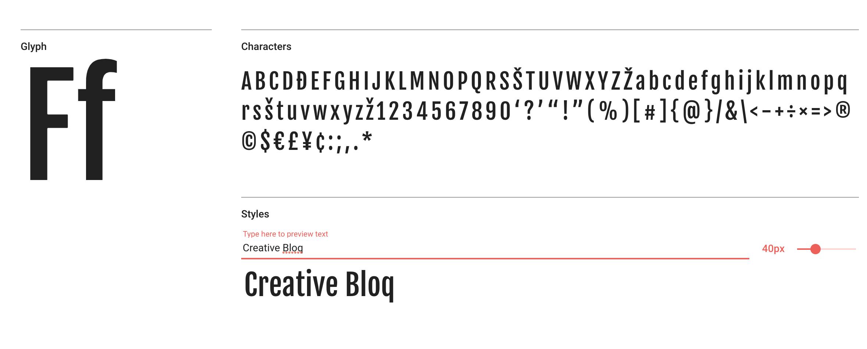 Fjalla One free web font
