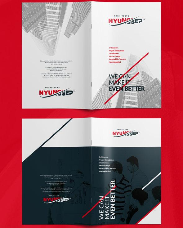 Flyer templates: Business brochure template