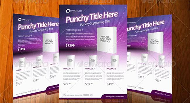Flyer templates: Elegant Product Flyer
