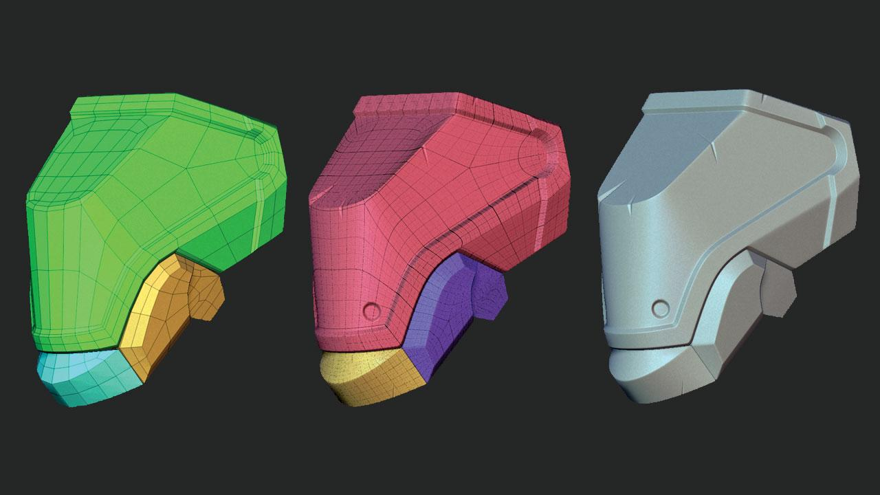 hard surfaces in 3D models