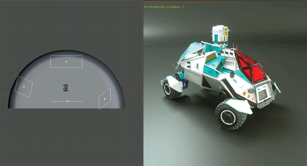 vehicle 3D model
