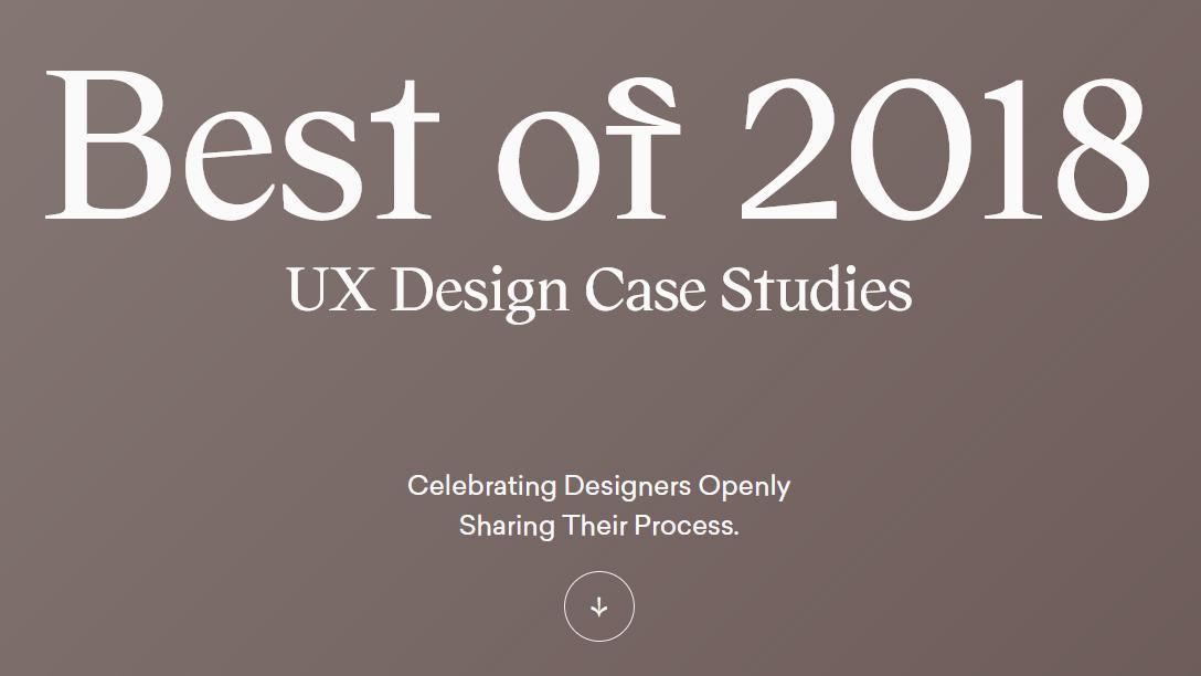 UX design case studies