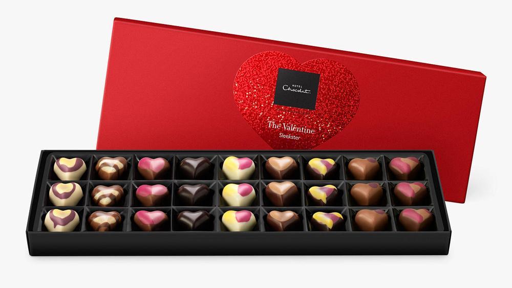 Hotel Chocolat Valentine's Sleekster