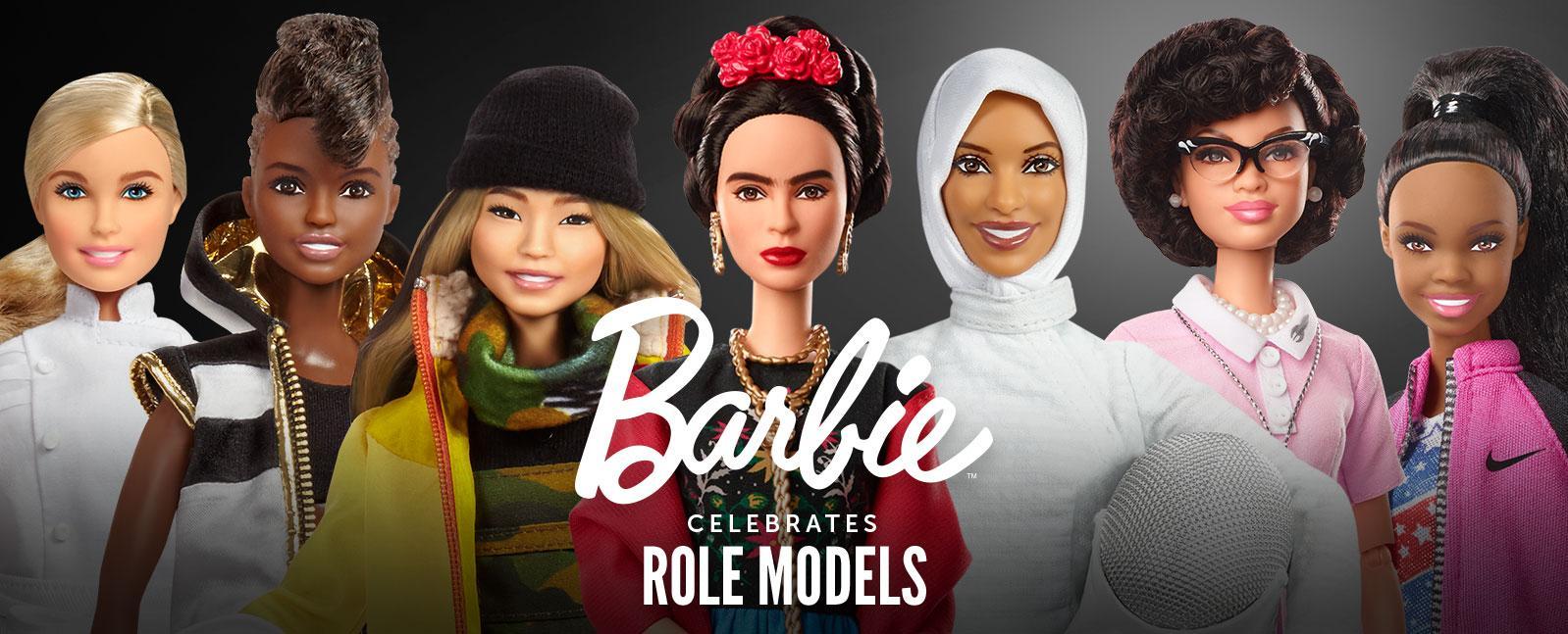 Barbie celebrates role models series