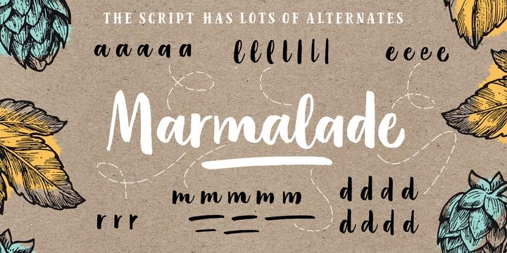 Calligraphy fonts: Organika