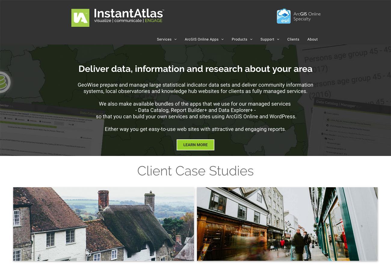 Dataviz tools: InstantAtlas