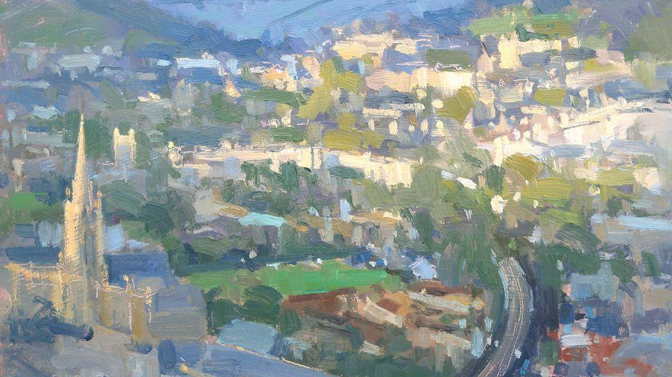 painting of Bath landscape