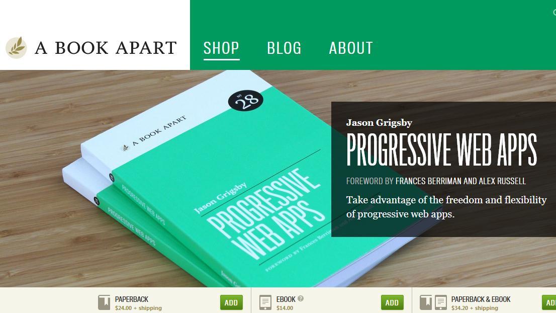 Progressive Web Apps book