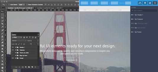 mockups can be dragged into UXPin