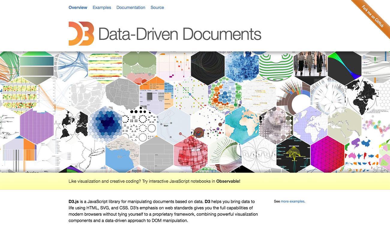 Dataviz tools: D3.js